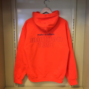 MIDTOWN1991 Hooded Sweatshirt (Orange)