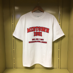 MIDTOWN1991 T-shirt (RED)
