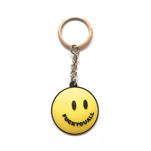 Smile Keychain (Yellow)