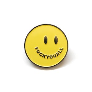 Smile Pin (Yellow)