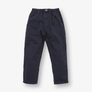 LOOSE TAPERED PANTS (DOUBLE NAVY)