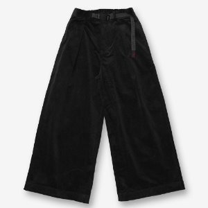 CORDUROY BAGGY PANTS (BLACK)
