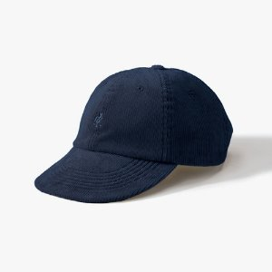 CORDUROY UMPIRE CAP (DOUBLE NAVY)