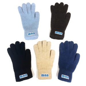 mnn logo gloves