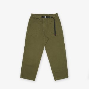 LOOSE TAPERED PANTS (OLIVE)