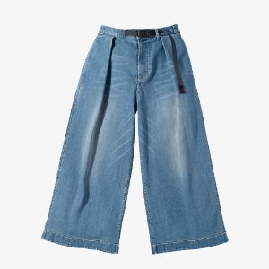 DENIM BAGGY PANTS (MEDIUM USED)