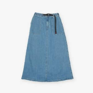 DENIM BAKER SKIRT (MEDIUM USED)