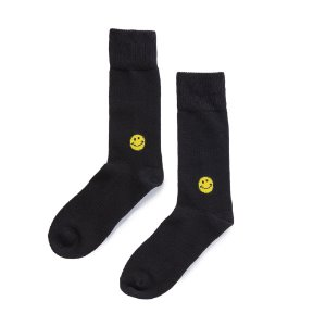 Smile Socks (BLACK)