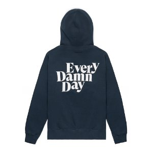 Every Damn Day Hoodie (NAVY)