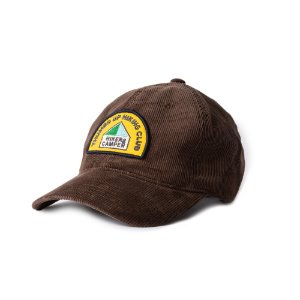 Hiking Club Cord Cap (BROWN)