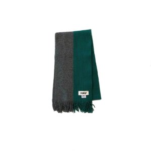 Half Half Two Colour Scarf (GRY)