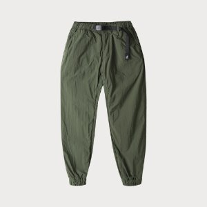 NYLON FLEECE PANTS (OLIVE)