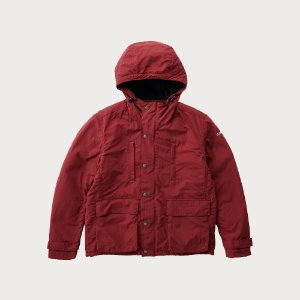 SHELL MOUNTAIN PARKA (BURGANDY)
