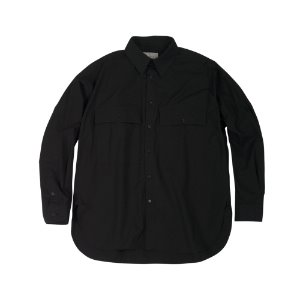 AC 5501 OVERSIZE SHIRTS (BLACK)