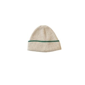One Stripe Rib Hat (BEG)
