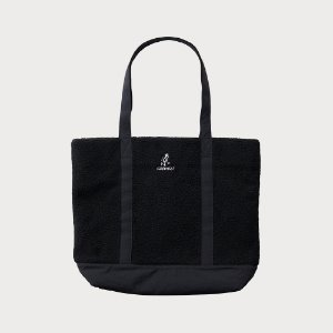 BOA FLEECE TOTE (BLACK)