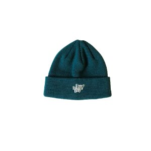 Every Damn Day Beanie (Peacock Green)