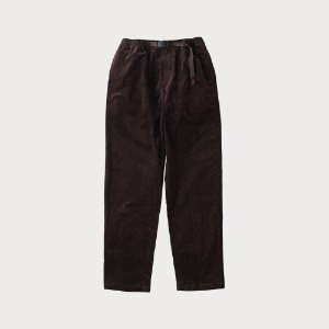 CORDUROY GRAMICCI PANTS (DARK BROWN)