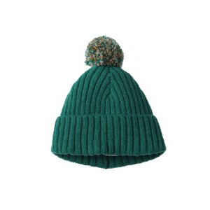 Rib Bobble Hat (GRN)