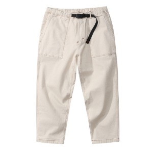 DENIM LOOSE TAPERED PANTS (NATURAL)